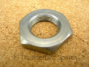Front Brake Anchor Plate Nut, Triumph Twins 1958-1968, 37-1246, Full width hub